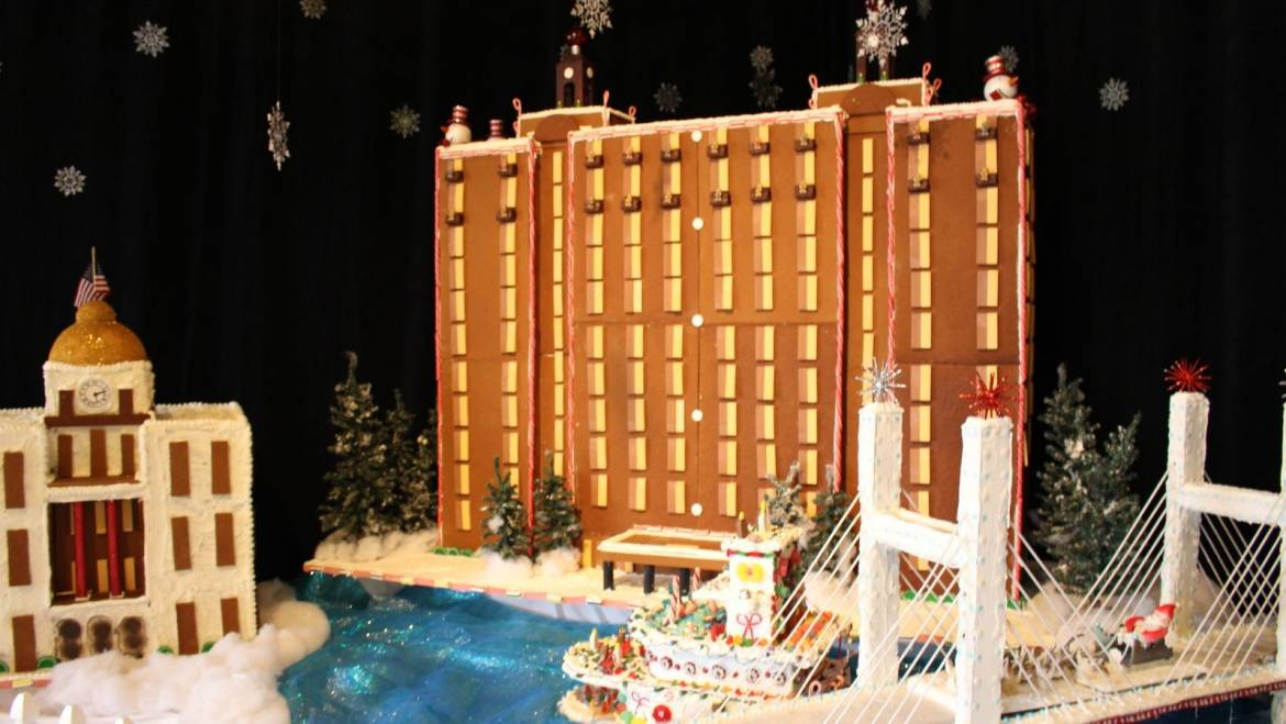 Westin Savannah Harbor Gingerbread Village Scavenger Hunt